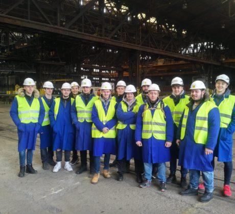 Exkurze Vítkovice Steel